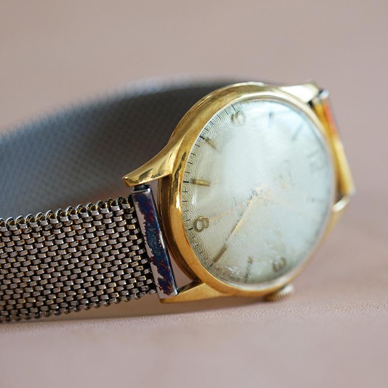 形見の腕時計【腕時計のベルトを仕立てる】